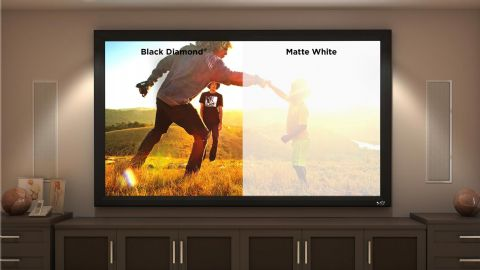 "SI Black Diamond Standard Frame 120"" 9FT 16:9 Screen"